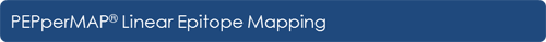 PEPperMAP® Linear Epitope Mapping